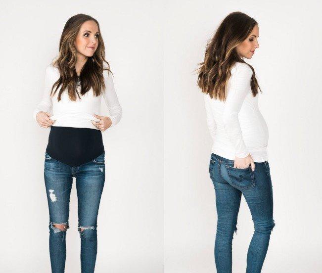 Rrobat e ngushta gjatë shtatzanisë: çfarë duhet të keni parasysh