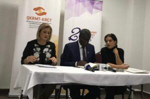 Gjinekologu Mukwege në Prishtinë flet për mungesën e drejtësisë për gratë e dhunuara